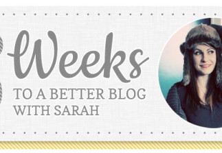6 Weeks: Being a little too inspired by other bloggers