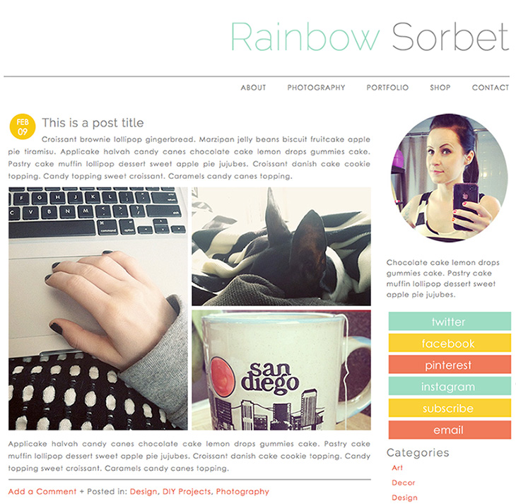 SillyGrrl.com // Premade Template for self-hosted WordPress