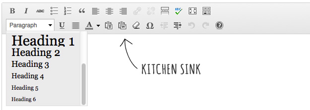 SillyGrrl.com // How to: Add font styles to the kitchen sink in WordPress