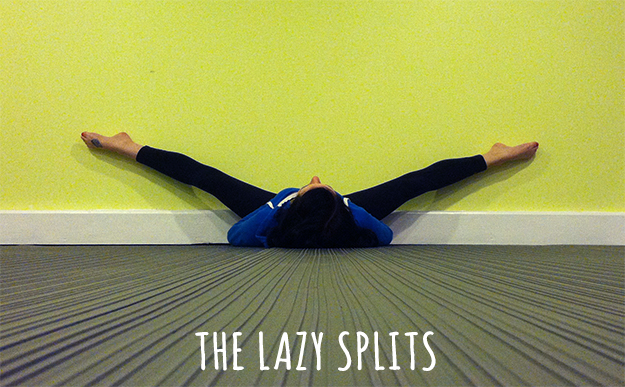 Aerial Exercise: The Lazy Splits