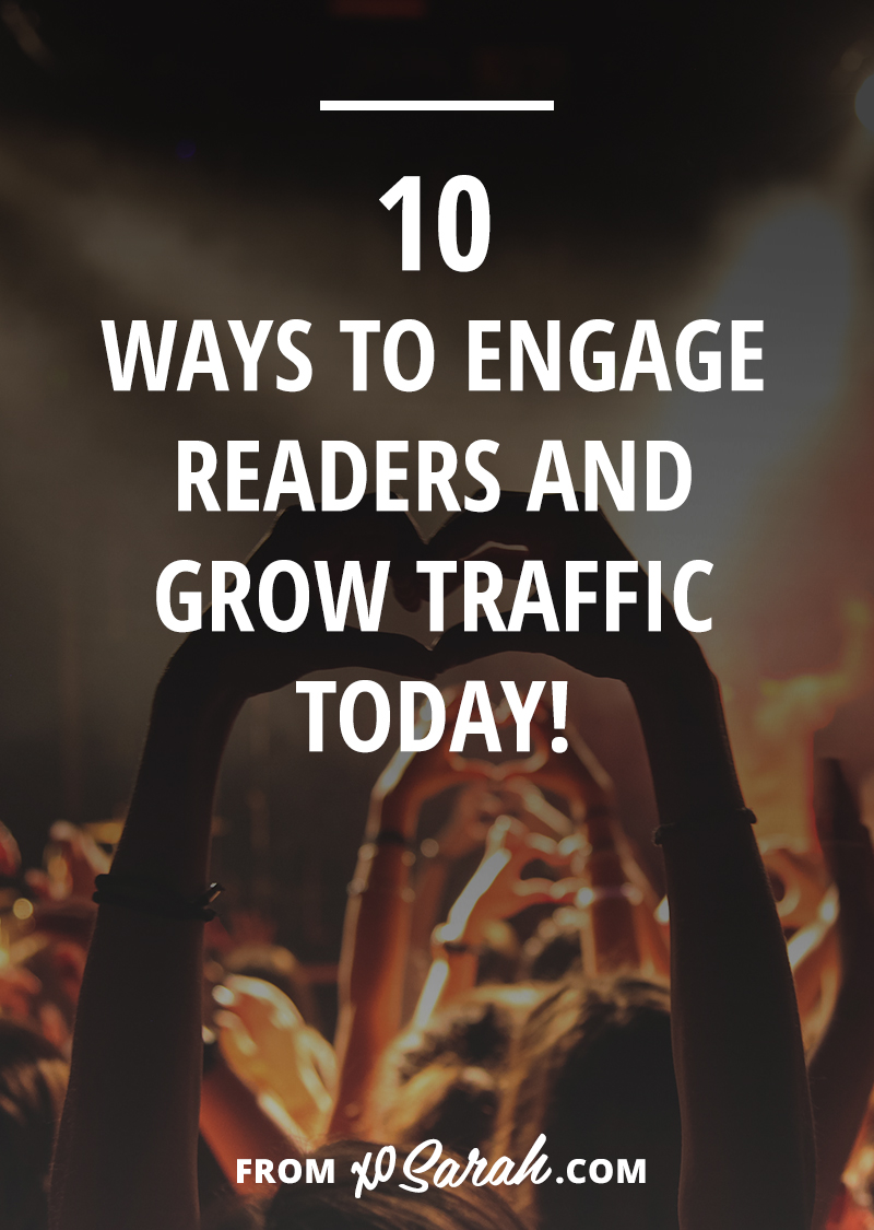 You know that thing when you post something you worked really hard on and you think it's so damn genius and inspiring, but the next day your comments section is all but a coconut away from a deserted island? Let's make that stop happening. Here are my favorite 10 ways to earn a few more readers and convince them to start commenting on and sharing your posts!