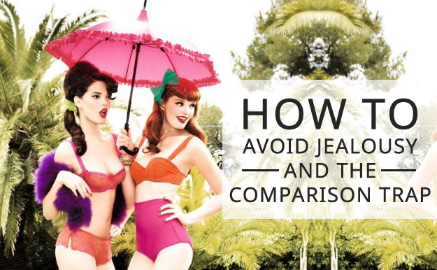 SillyGrrl.com // How to avoid jealousy and the comparison trap