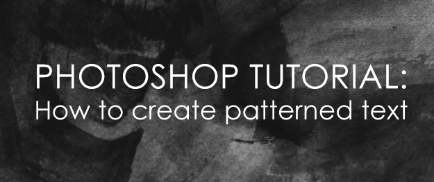 SillyGrrl.com // Photoshop Tutorial: How to create patterened text