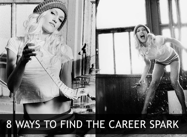 8 Ways to find the career spark from XOSarah.com
