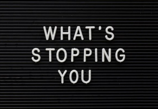 Stop waiting for something to happen before going after what you want