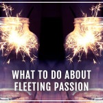 What to do about feeting passion from XOSarah.com