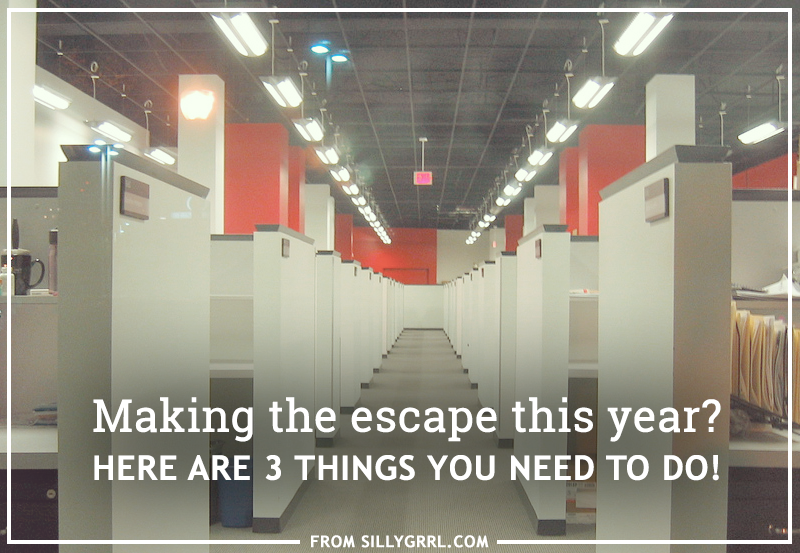 Making the escape this year? Here are 3 things you need to do