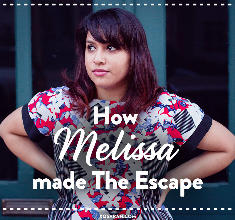 How Melissa Alam made the escape from full-time to a freelance branding biz