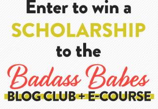 CLOSED: Win a Badass Babes scholarship!