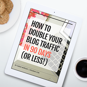 Double your blog traffic in 90 days (or less!)