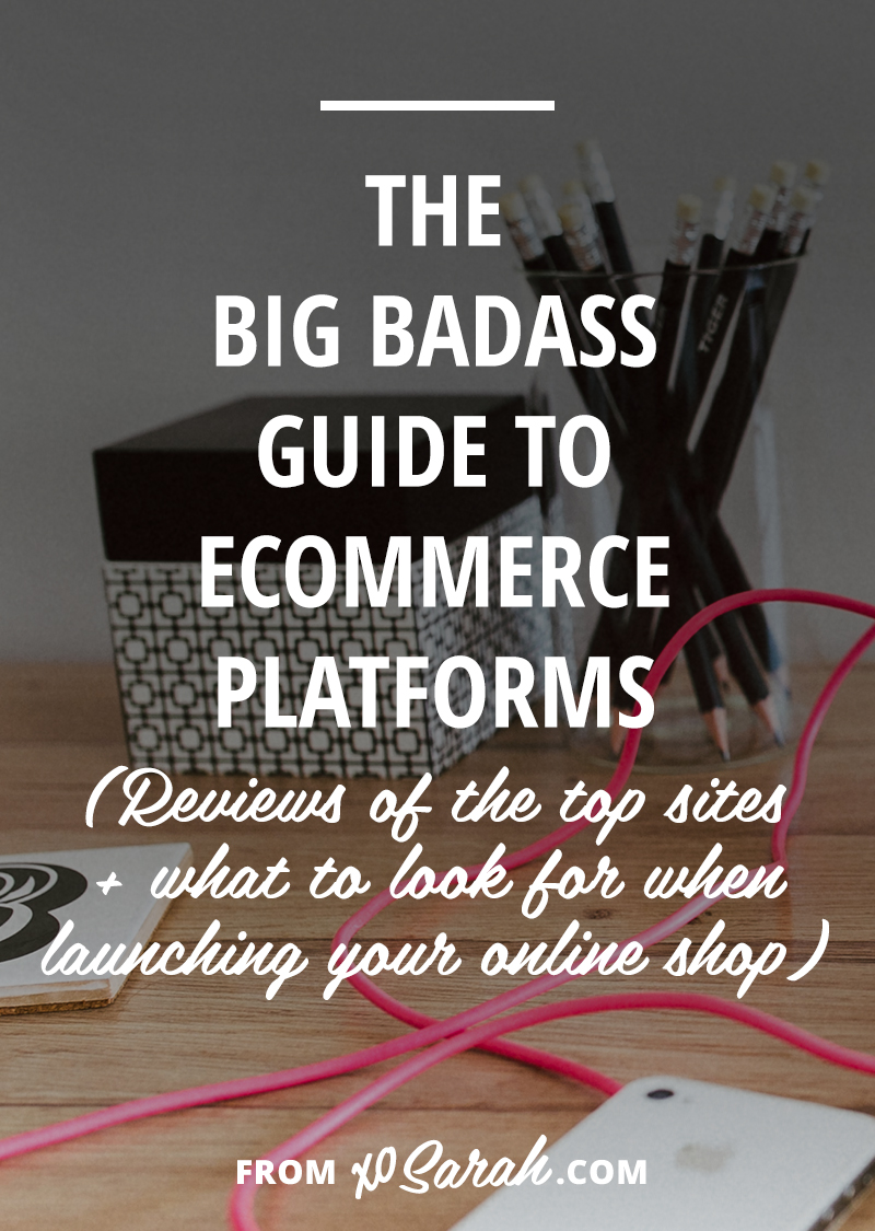 Passive income and infoproducts are THE best way to grow your online business. Here are the pros and cons of the top ecommerce platforms to help you launch your online shop and start selling!