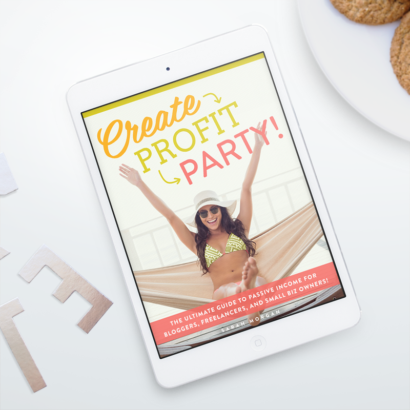 Create. Profit. Party! It's ebook launch day!