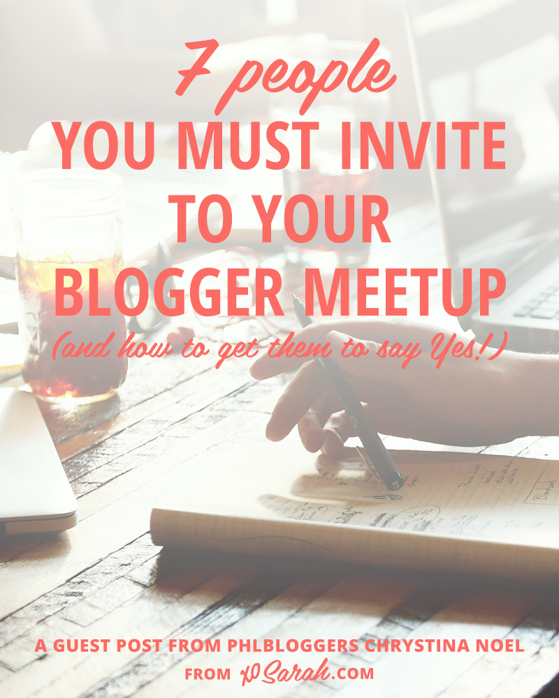 Hosting a blogger meetup? Here are 7 guests you'll definitely want to invite!
