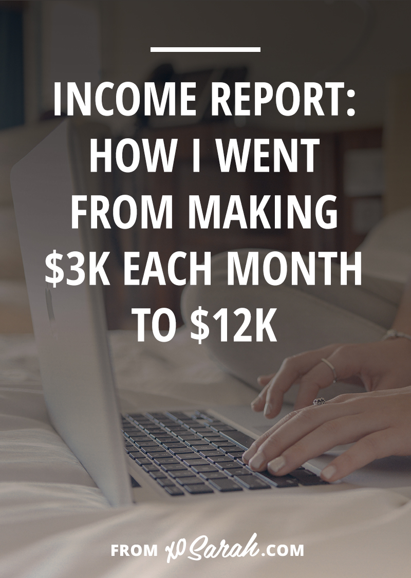 I hit some big income milestones this year - I now earn more working for myself than I did at my $50k/year corporate job. I started hitting 5-figure months. Last year I earned just under $28,000 and this year I will earn 6-figures. Like I did when I made that realization, I'm sure you're wondering...how the hell did that happen?? So this post is as much for me to break it all down as it is for you to see how it's possible.