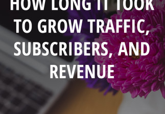 4 Years in Business: How long it took to grow traffic, subscribers, and revenue