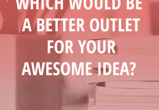 Ebook vs E-Course: Which would be a better outlet for your awesome idea?