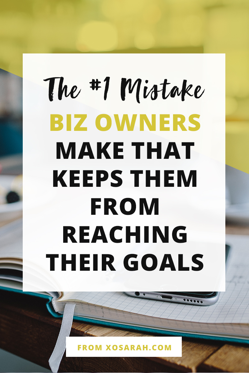 If you put time into Pinterest and Twitter and Instagram and Facebook, and your blog, and your email list, but you skip this ONE important thing, your online business will NOT grow and it will NOT succeed. Here's how to fix it STAT!