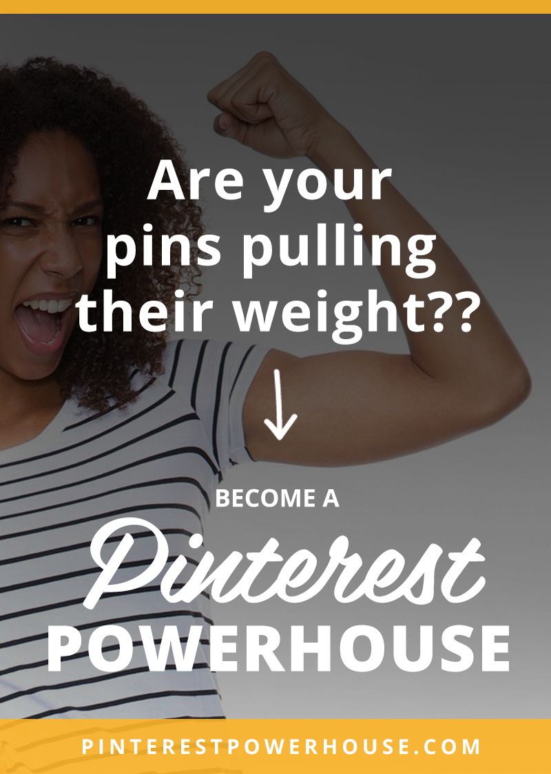 Have you been pinning and pinning and not seeing the results you were hoping for OR pinning personal stuff without a clue how to transition to using Pinterest to support your blog or business? Click through to see how the Pinterest Powerhouse ecourse can help get you more repins, more traffic, and more email subscribers in the next 30 days!