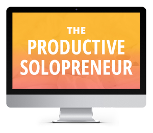 The Productive Solopreneur E-Course