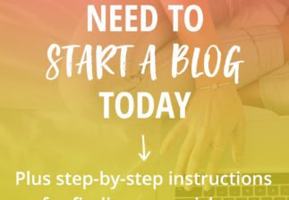 5 reasons to start a blog TODAY + Dare to Blog is here!