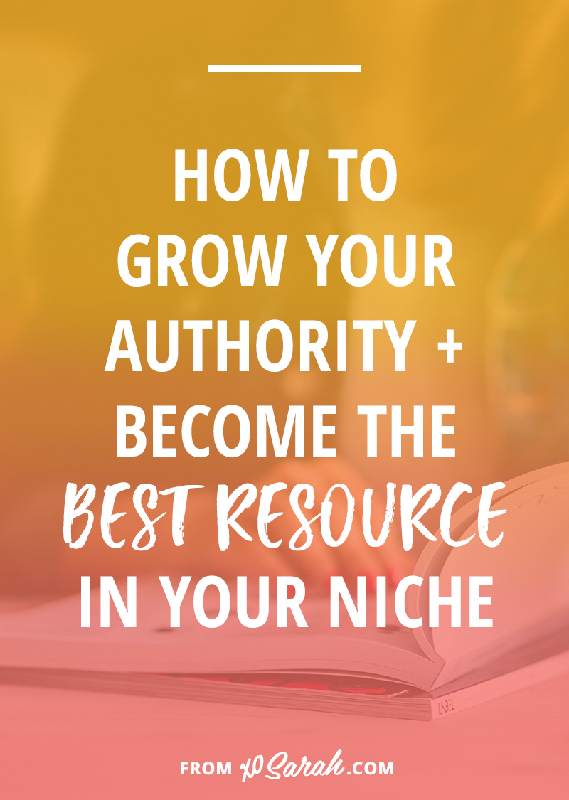 FYI: Growing your blog traffic isn't just about creating great content; you need to become the go-to person for all things related to your niche. If you're not feeling very authoritative or on top of your game yet here are six ways to get going on your trek to that #1 spot.