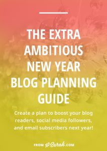 New Year Blog Planning Guide