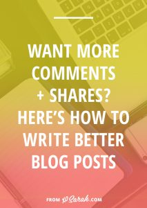 Want to boost your comments and shares? Here's how to write better blog posts
