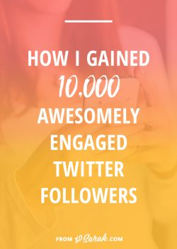 How I gained 10k awesomely engaged Twitter followers