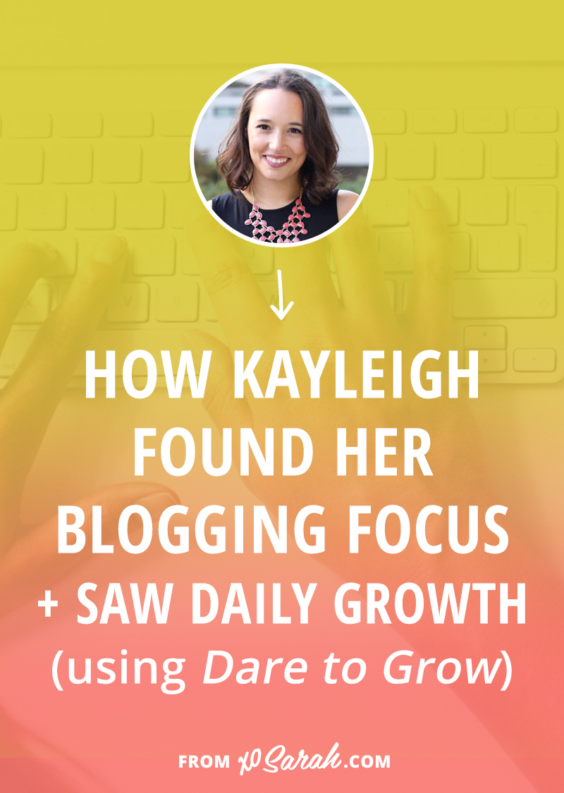 When Kayleigh started blogging she had ONE single subscriber (literally!), but over the past two years she's creating a blogging and social media plan to keep her audience growing every single day. Click through to find out the most important steps in building her blog and business.