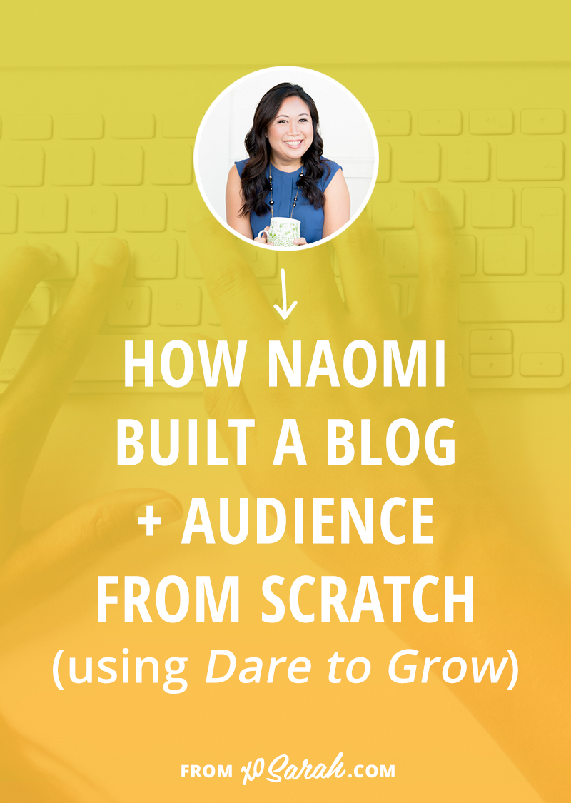 Wondering how to kick start your blog? Naomi shares how she went from personal blogging to building a blog and email list for her health coaching business. Click for all the details!