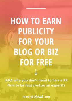 Guest Post: How to earn publicity for your blog or biz for FREE