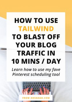 How to use TailWind to blast off your blog traffic in 10 minutes/day