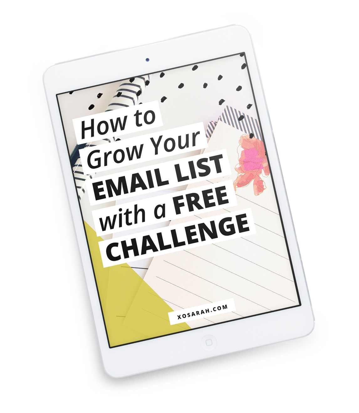 Blast off your email list in just ONE WEEK by hosting a free challenge. Grab my new ebook to learn how!